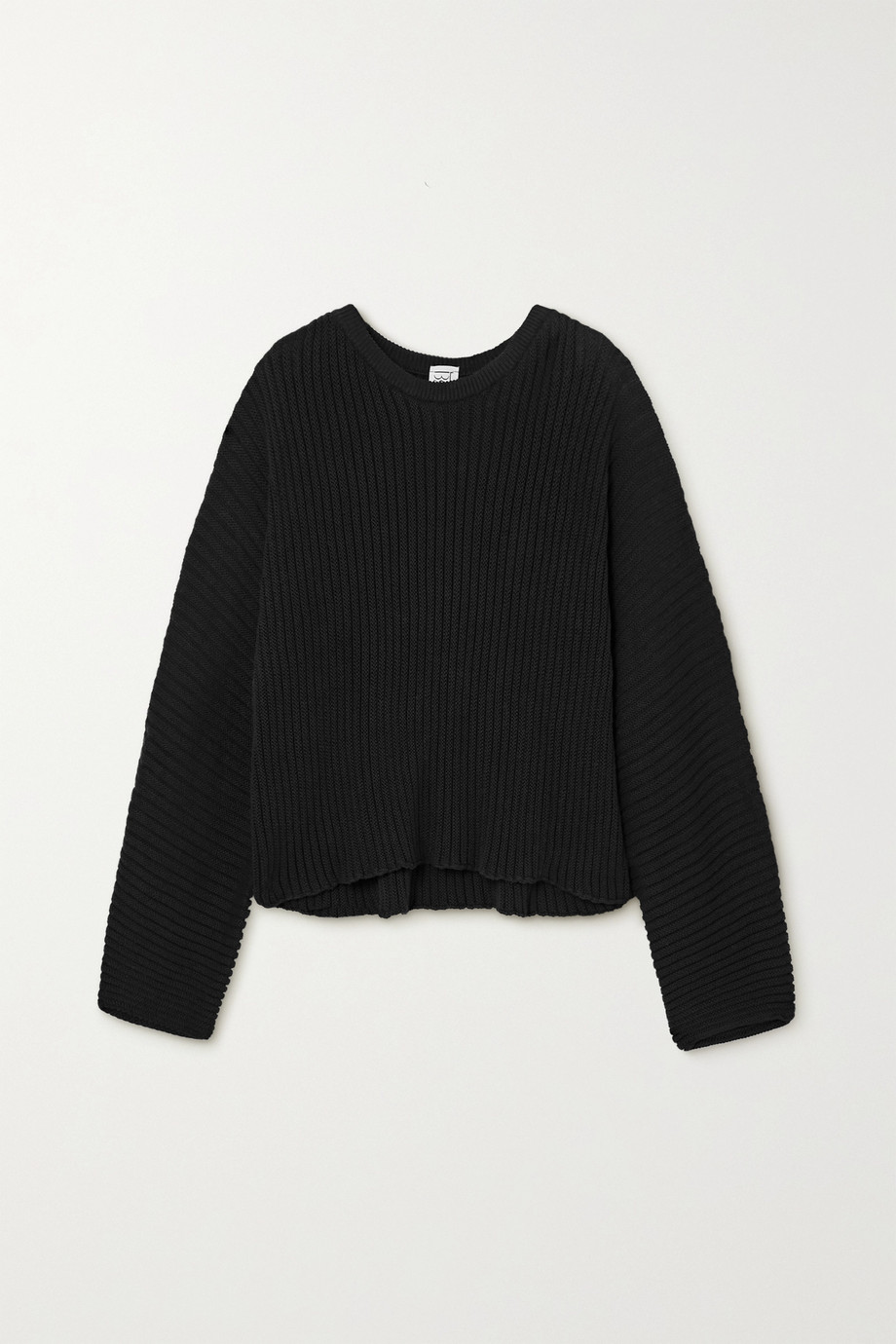Baserange Kai ribbed organic cotton sweater