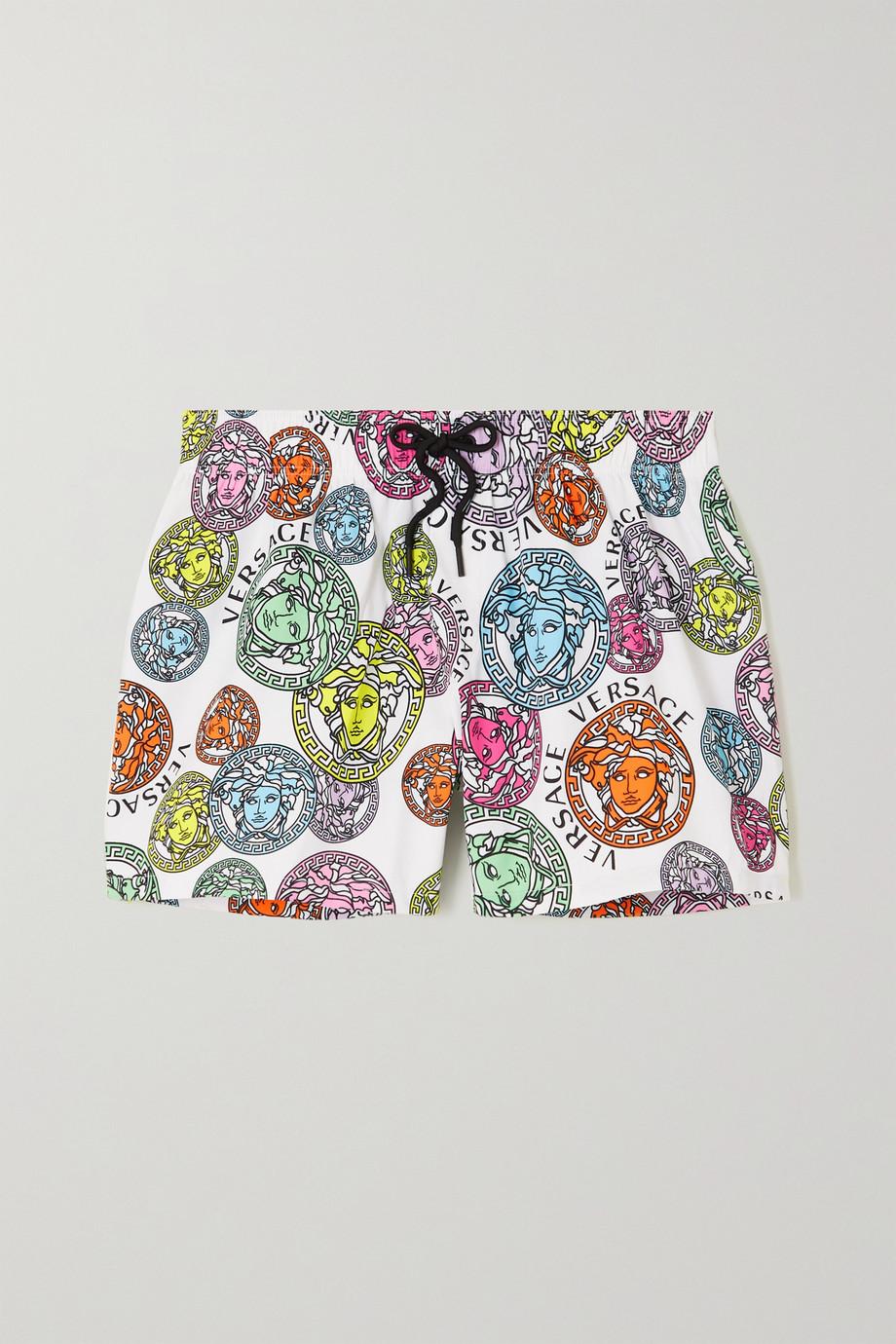 Versace Shorts aus bedrucktem Shell