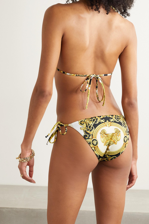 Versace Printed bikini briefs