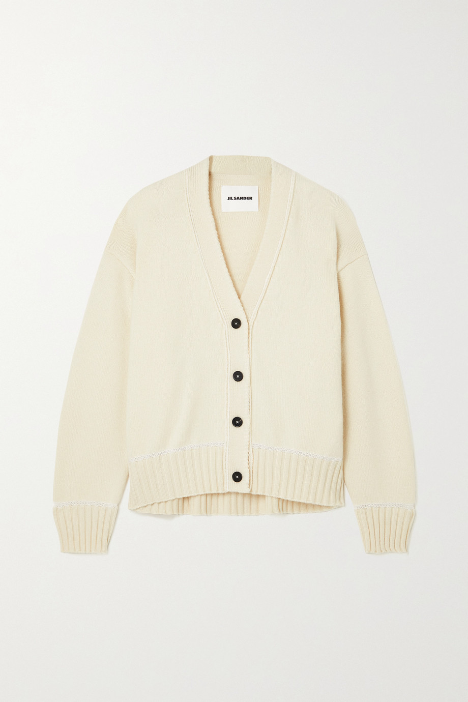 Jil Sander Wool and alpaca-blend cardigan