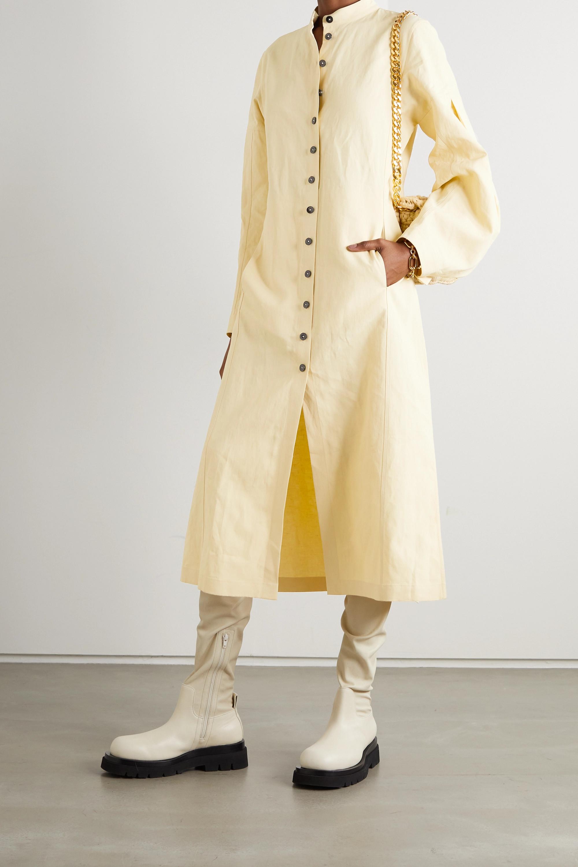 Jil Sander Linen midi dress