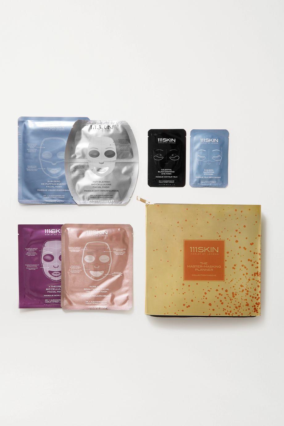 111SKIN The Master-Masking Planner – Set aus acht Gesichts- und Augenmasken