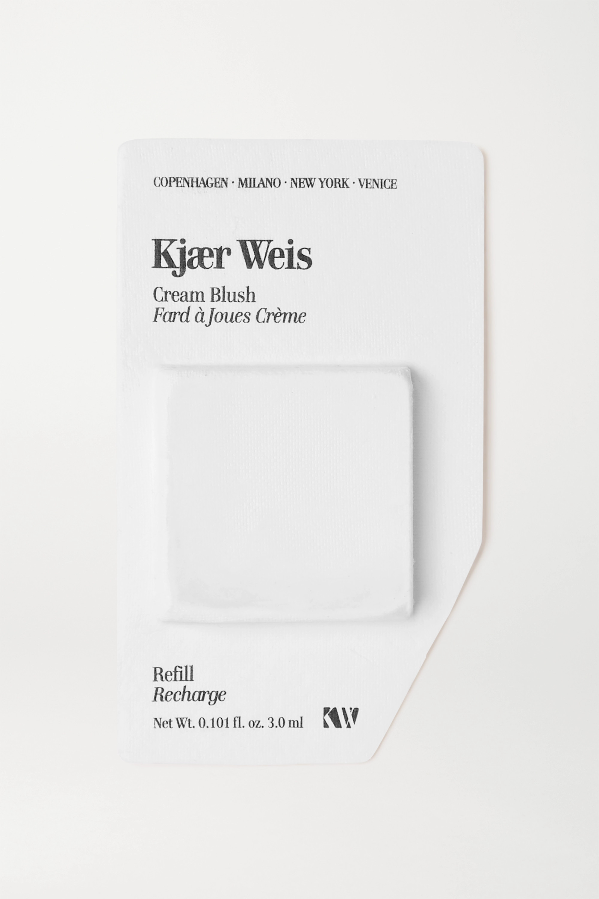 Kjaer Weis Cream Blush Refill - Happy