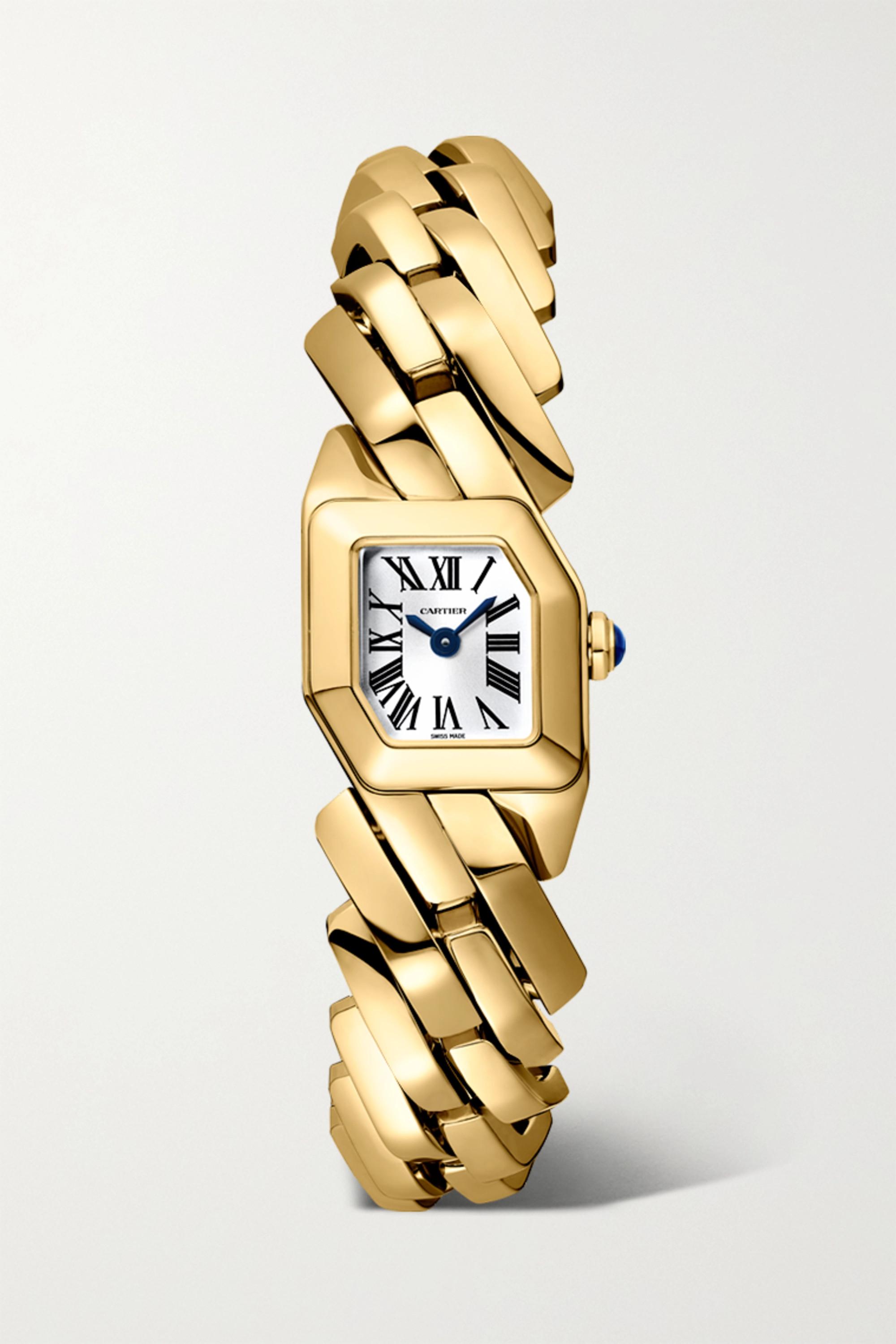 Cartier Maillon de Cartier 16mm 18-karat gold watch