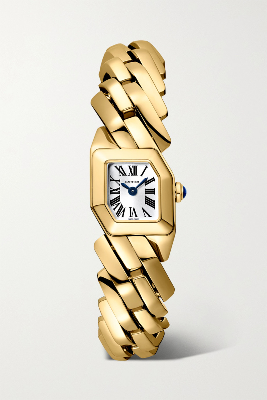 Cartier Maillon de Cartier 16mm 18-karat gold watch