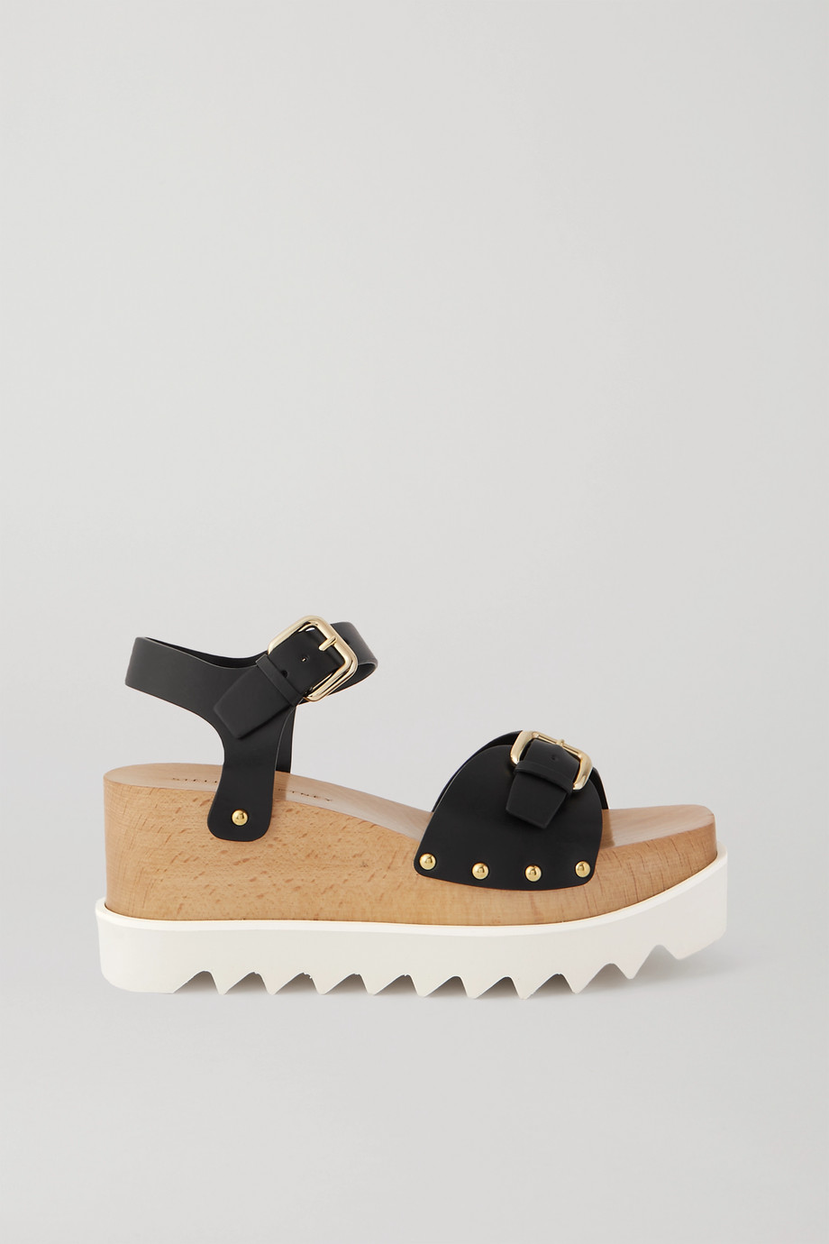 Stella McCartney Elyse studded vegetarian leather platform sandals