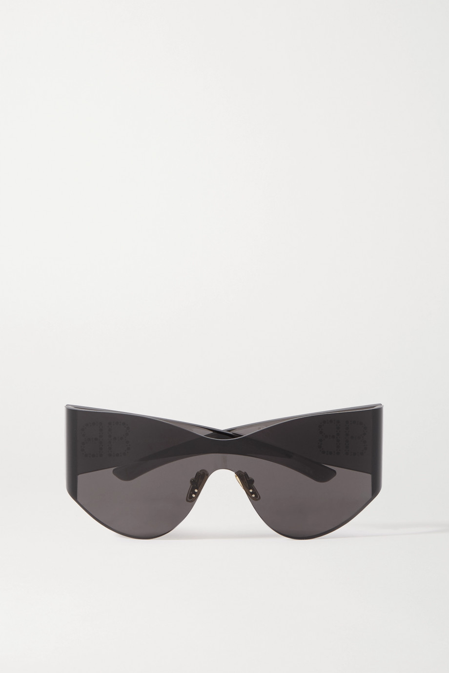 Balenciaga Cat-eye studded acetate sunglasses