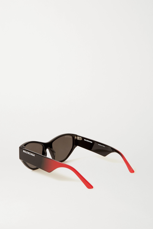 Balenciaga Sonnenbrille mit Cat-Eye-Rahmen aus Azetat