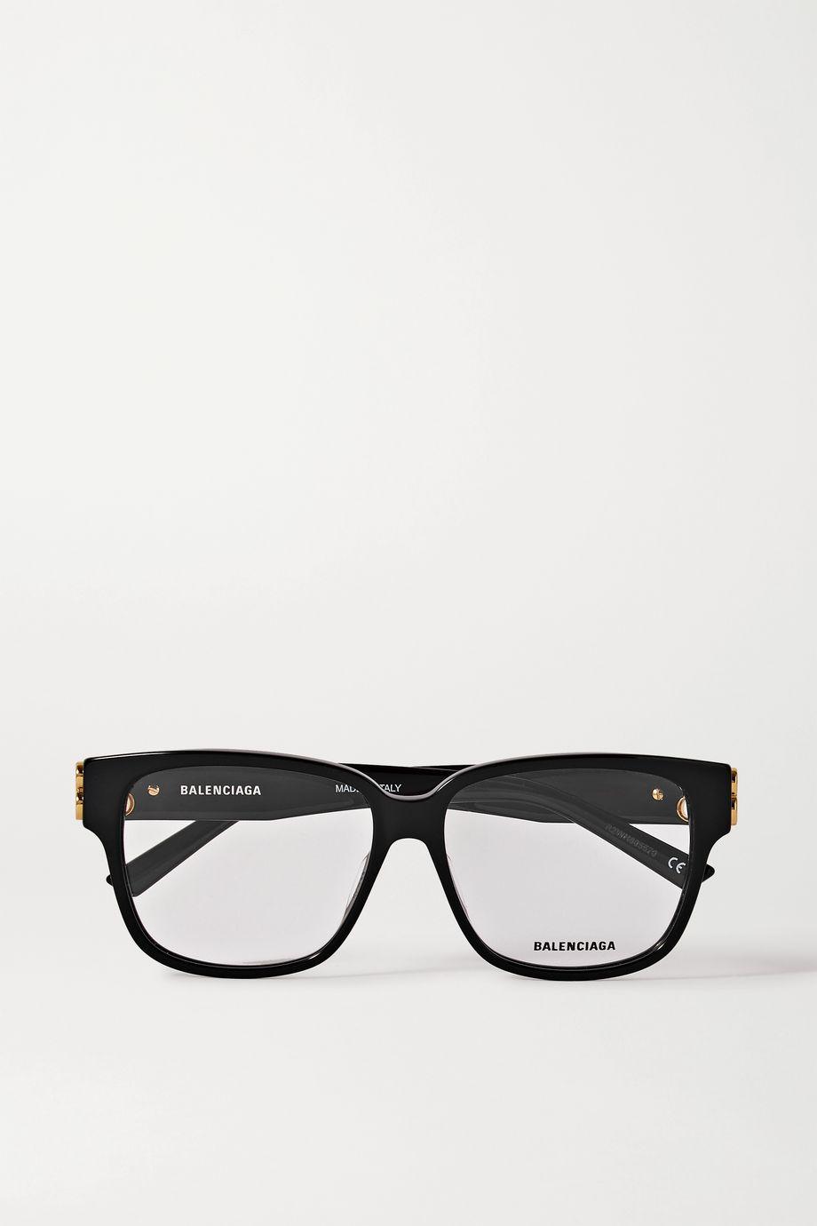Balenciaga Square-frame acetate optical glasses