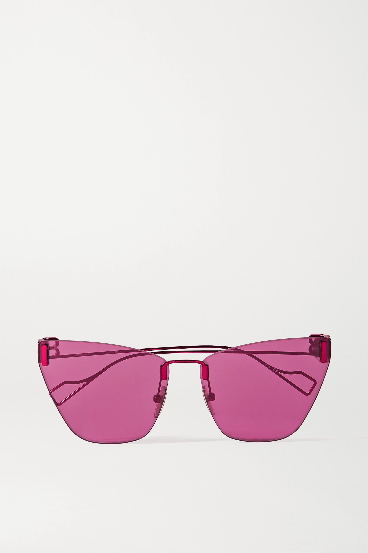 Balenciaga Cat-Eye-Sonnenbrille aus Metall