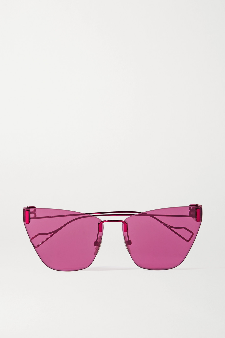 Balenciaga Cat-eye metal sunglasses