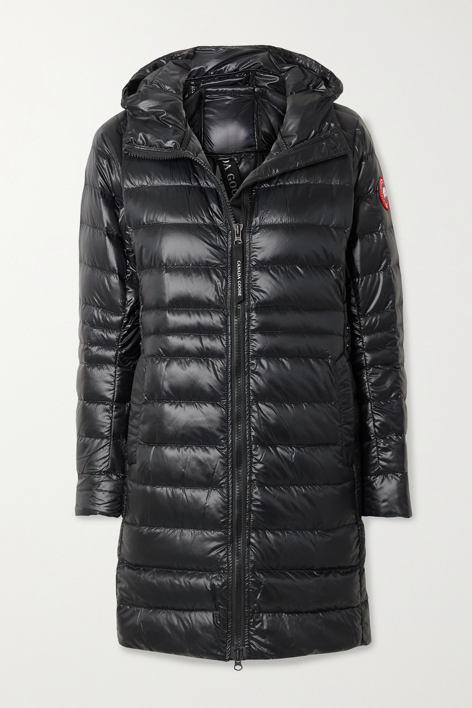 Canada Goose Cypress hooded quilted shell down jacket