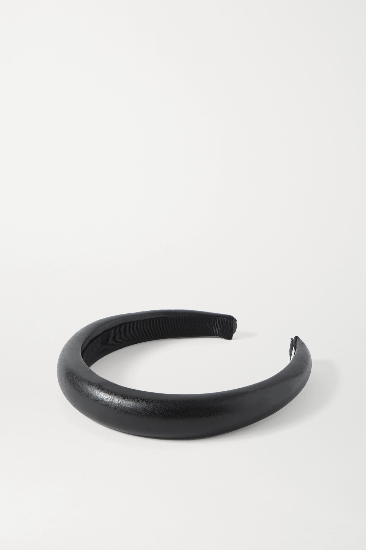 Jennifer Behr Marcy vegan leather headband