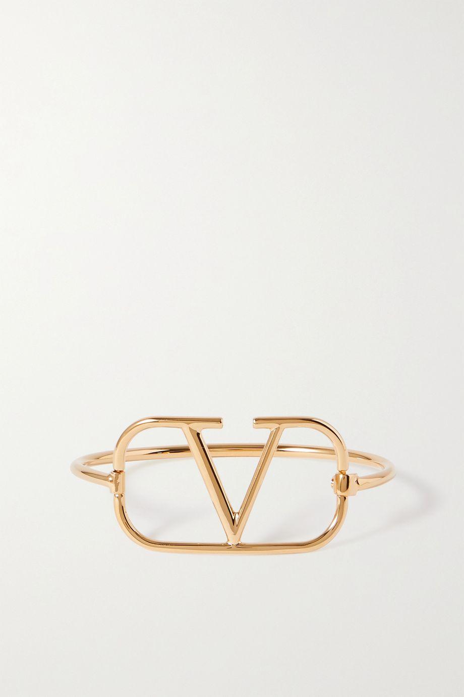 Valentino Bracelet doré VLOGO Valentino Garavani