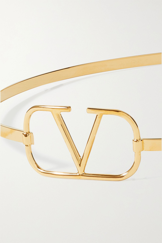 Valentino Valentino Garavani gold-tone headband