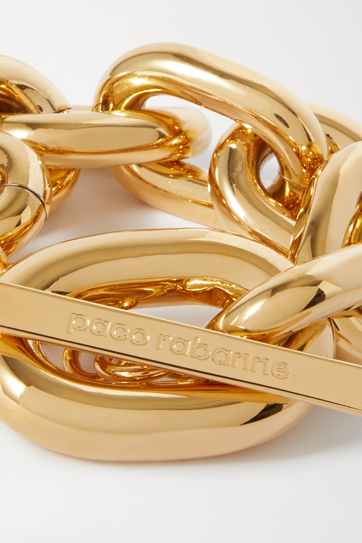 Paco Rabanne XL Link gold-tone bracelet