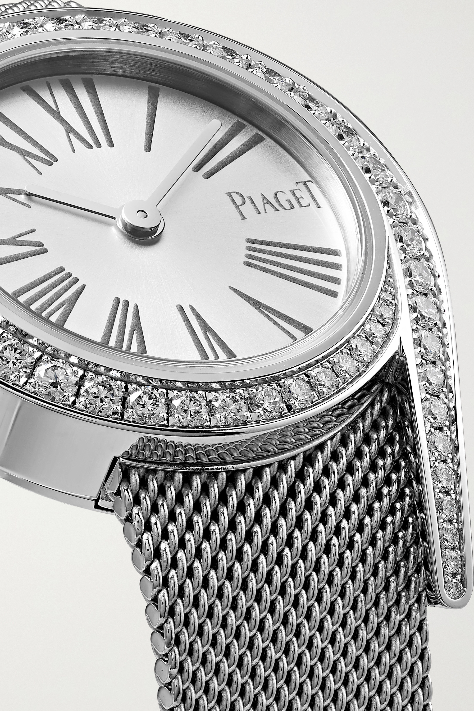 Piaget Limelight Gala 26mm 18-karat white gold and diamond watch