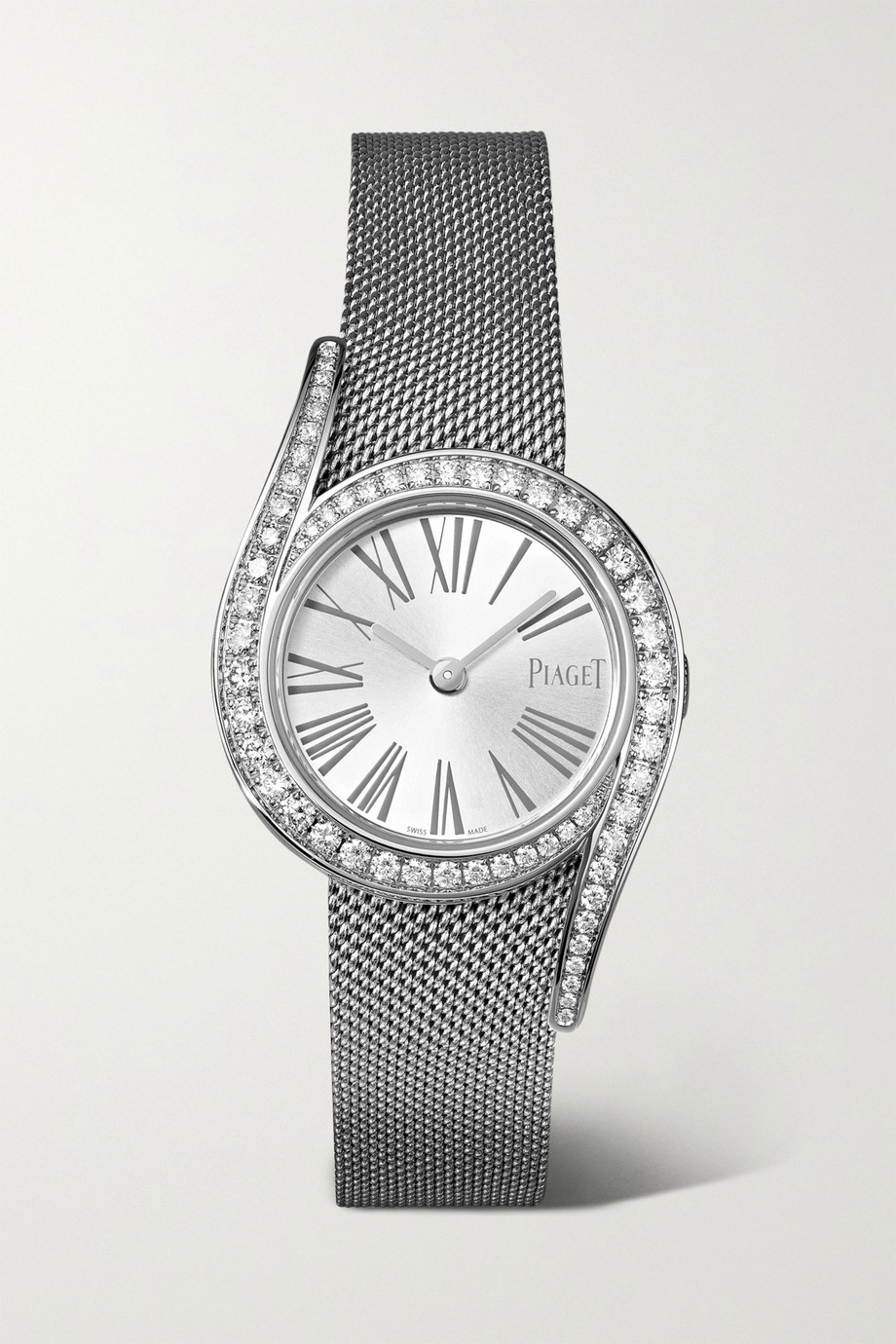 Piaget Montre en or blanc 18 carats et diamants Limelight Gala 26 mm