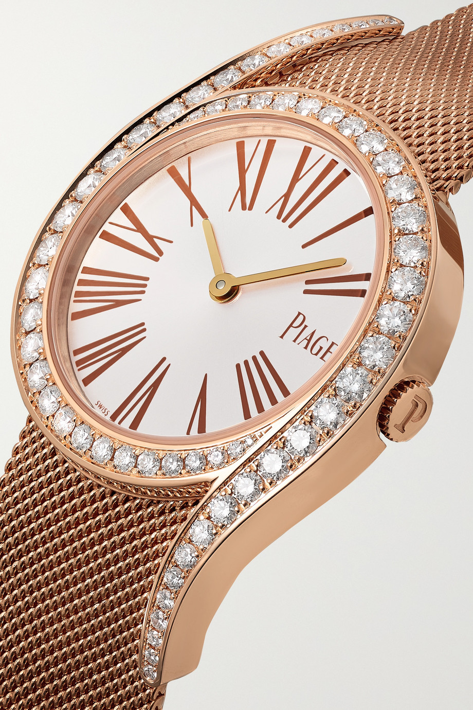 Piaget Limelight Gala 32mm 18-karat rose gold and diamond watch