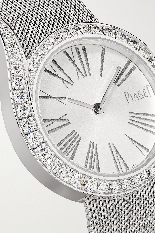 Piaget Montre en or blanc 18 carats et diamants Limelight Gala 32 mm