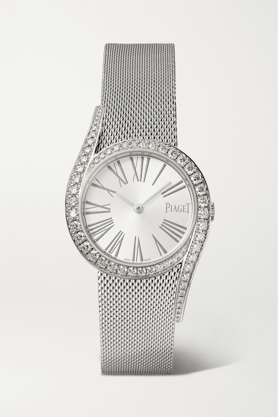 Piaget Limelight Gala 32mm 18-karat white gold and diamond watch
