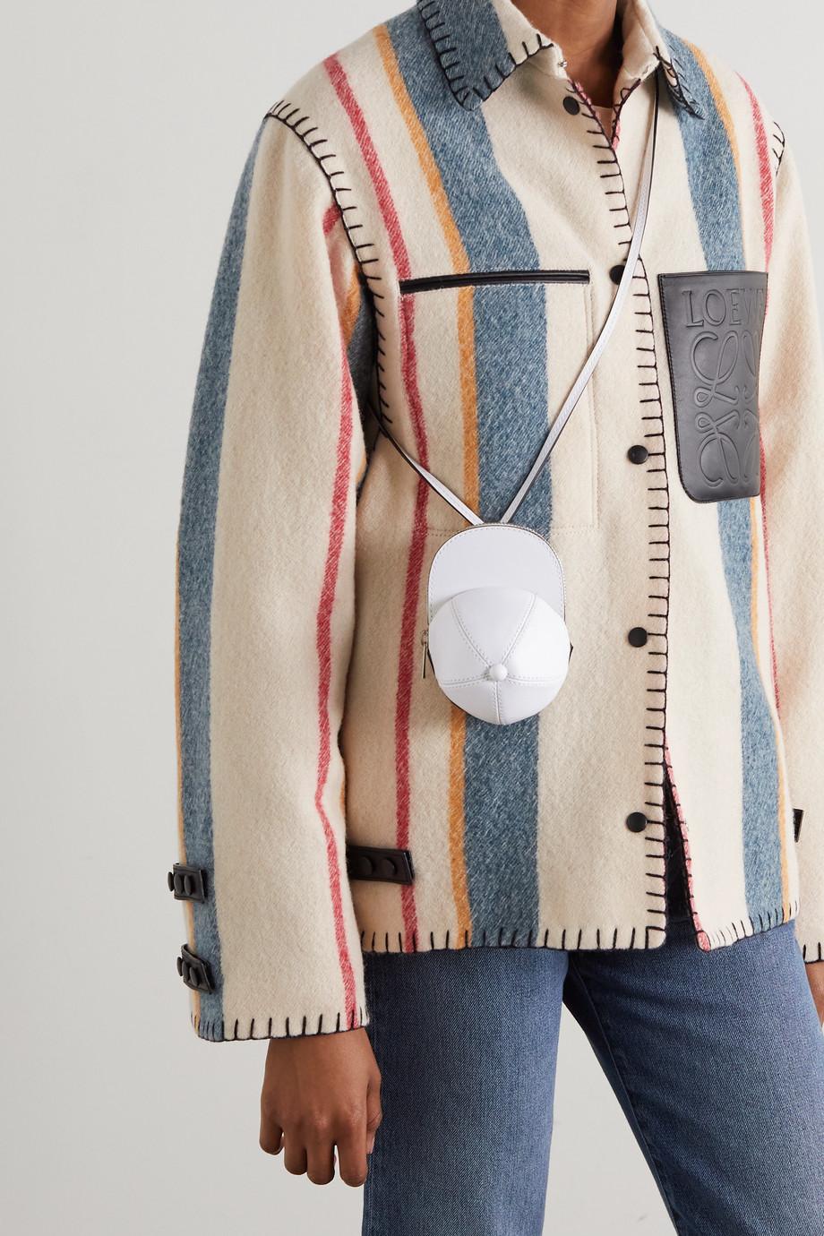 JW Anderson Nano Cap 皮革单肩包