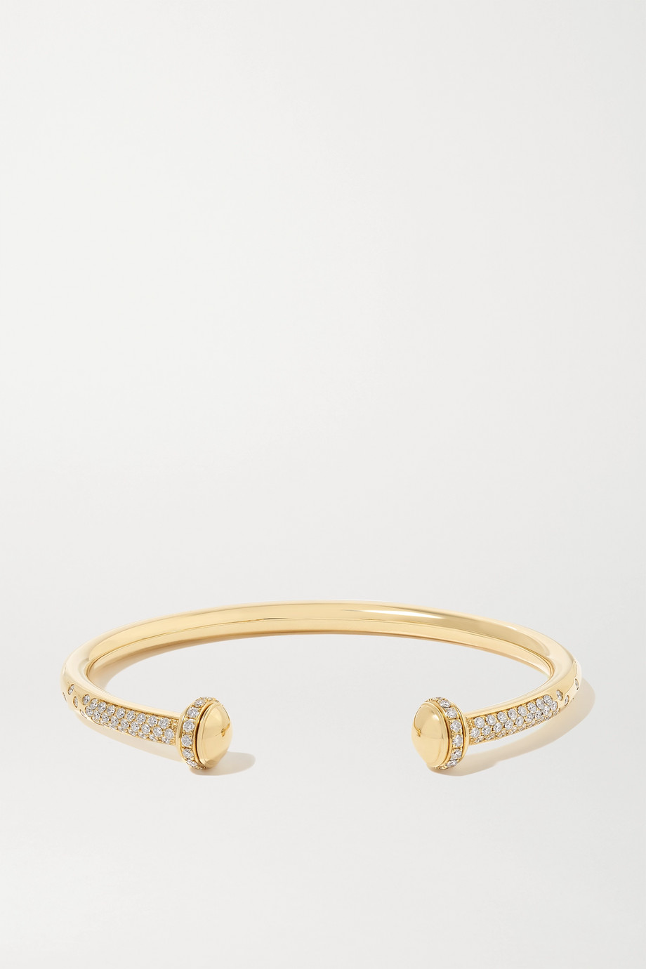 Piaget Possession 18-karat gold diamond cuff