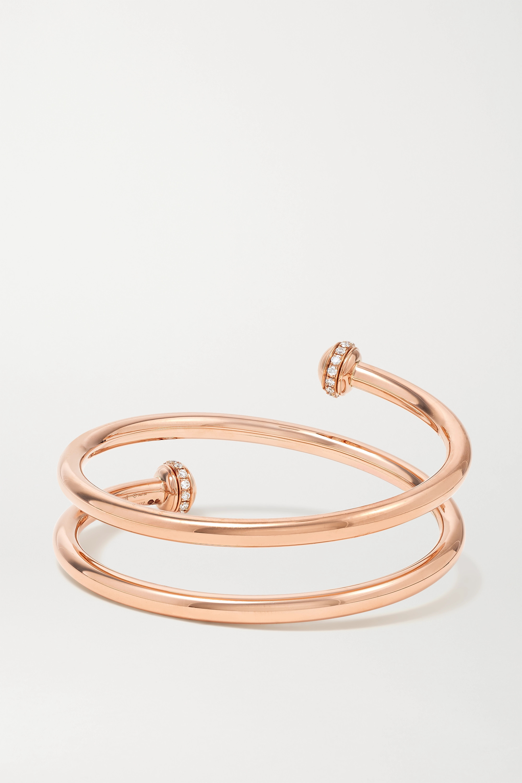 Piaget Possession 18-karat rose gold diamond bangle