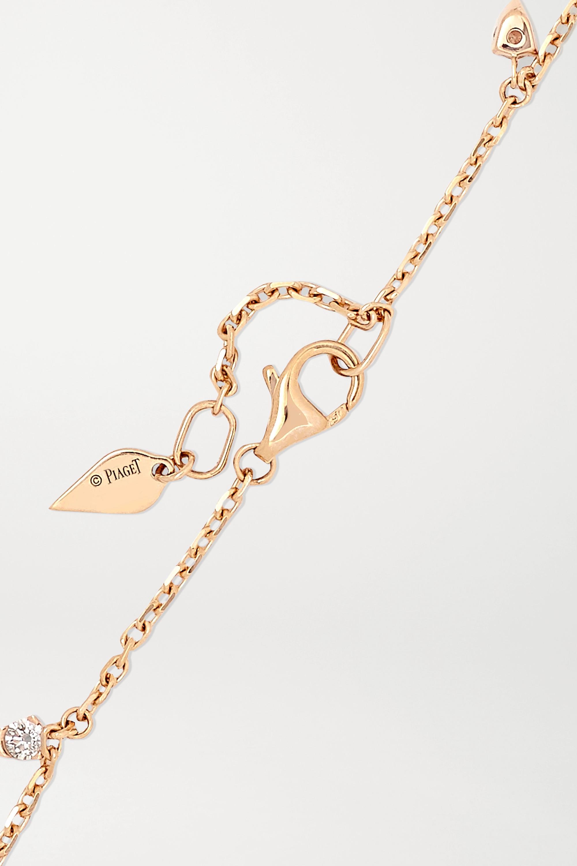 Piaget Sunlight 18-karat rose gold diamond bracelet