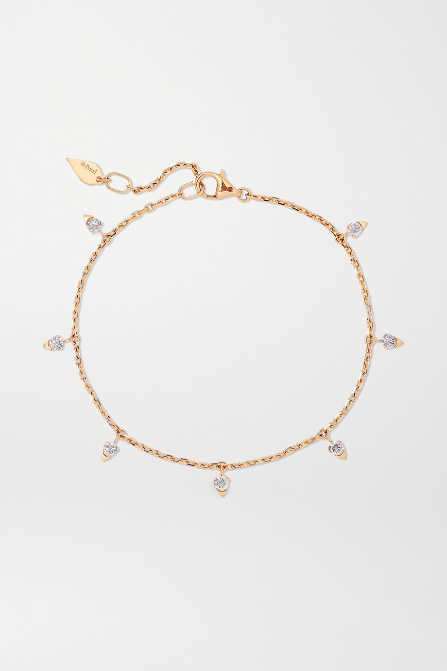 Piaget Sunlight 18-karat rose gold diamond bracelet
