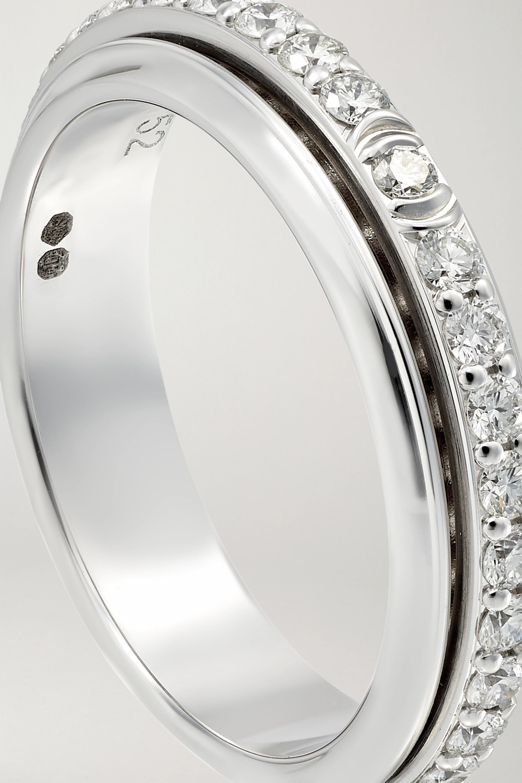 Piaget Bague en or blanc 18 carats et diamants Possession