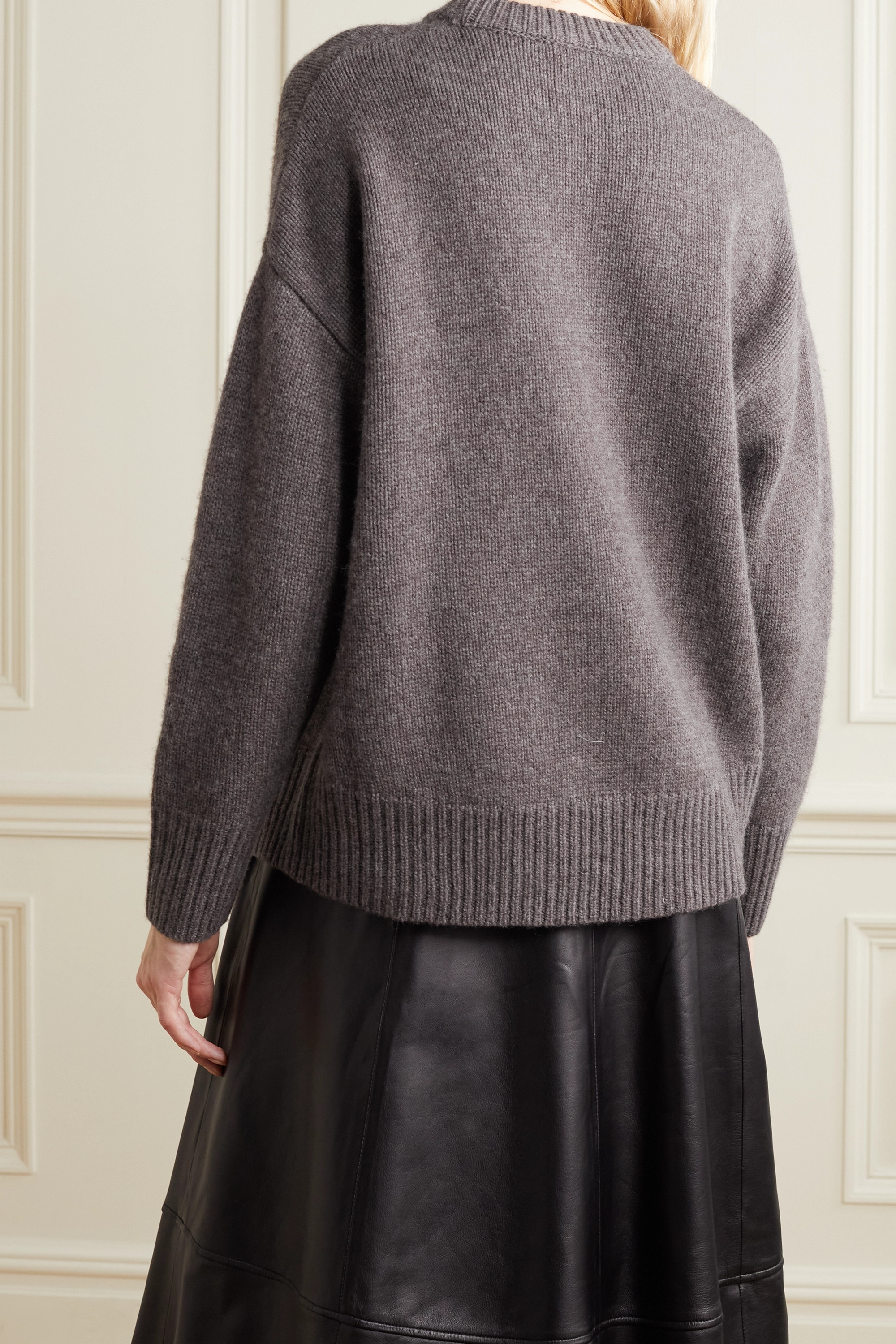 Co Oversized wool and cashmere-blend sweater