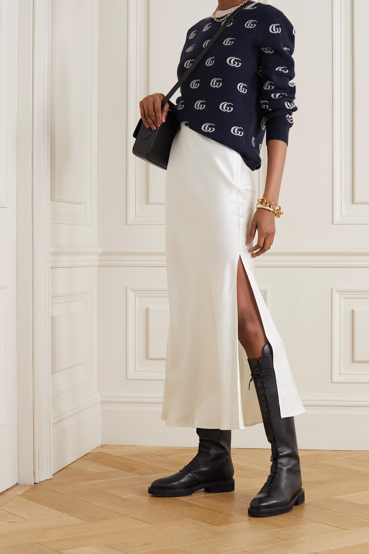 Gucci Wollpullover mit Intarsienmuster