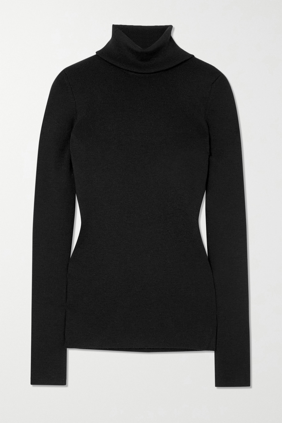 Gucci Embroidered wool-blend turtleneck sweater