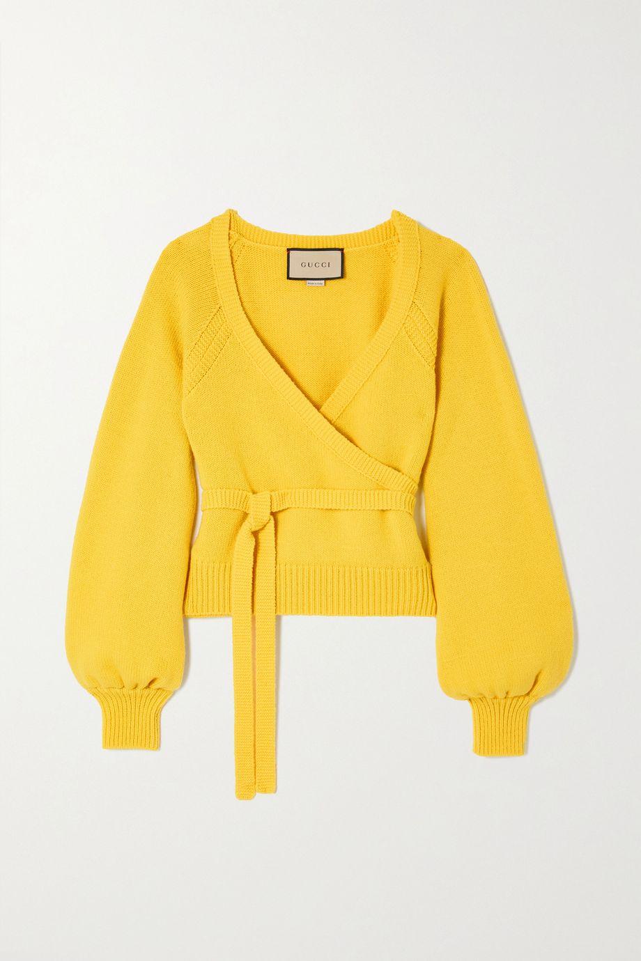 Gucci Wool wrap sweater