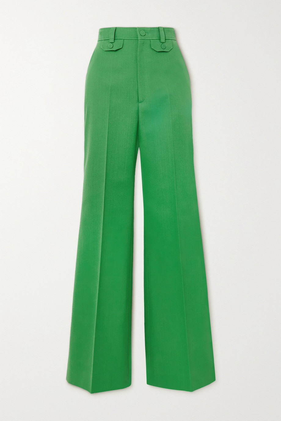 Gucci Twill flared pants