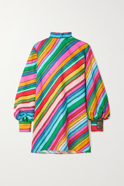 Gucci + Ken Scott striped linen tunic