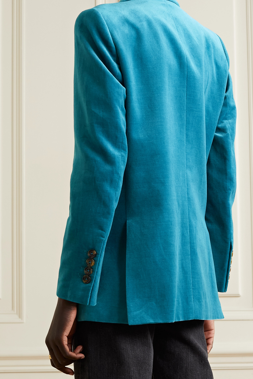 Blazé Milano Jealousy Everynight double-breasted velvet blazer