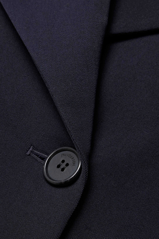 JW Anderson Double-breasted wool-twill blazer