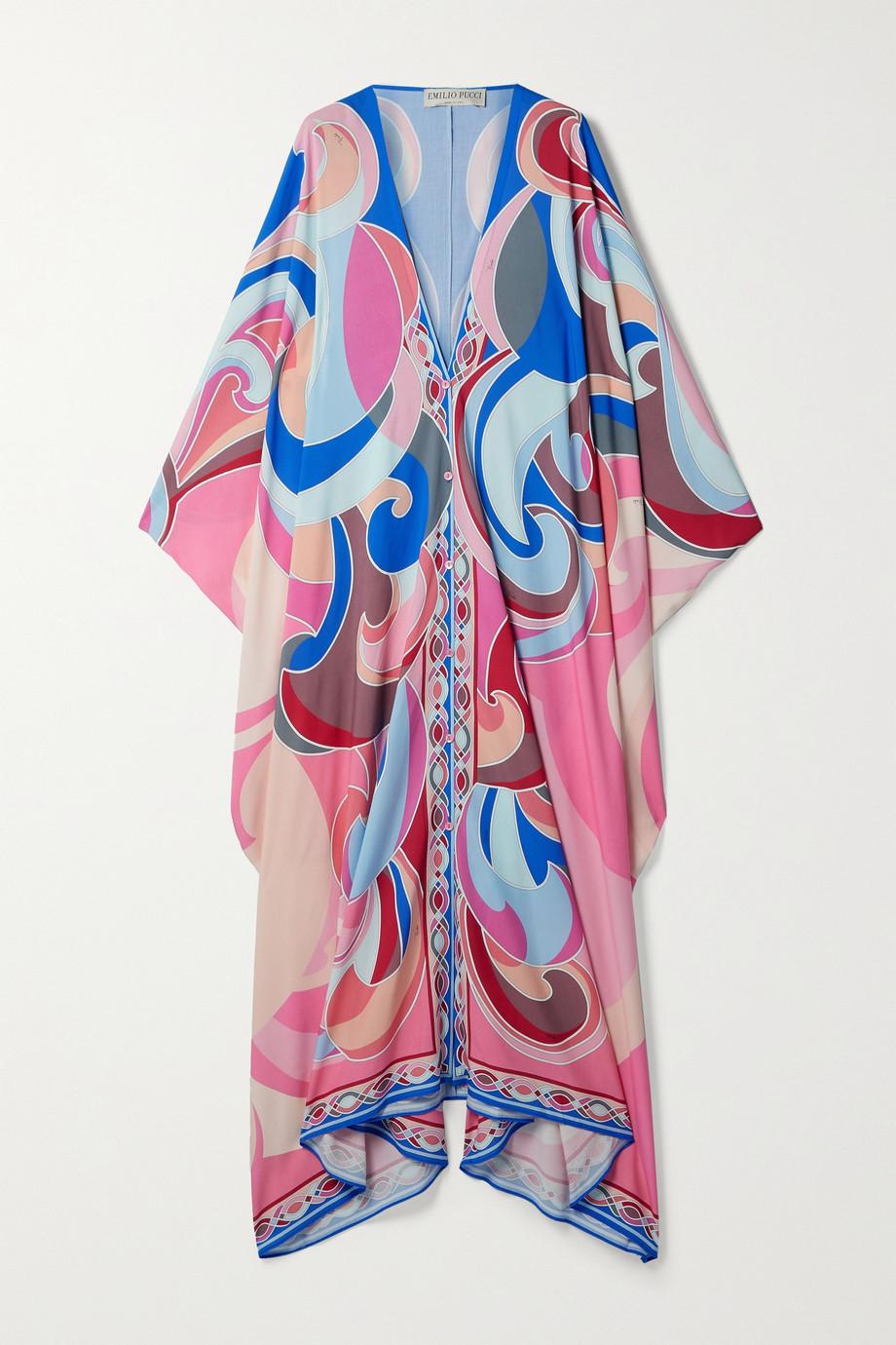 Emilio Pucci Printed woven kaftan