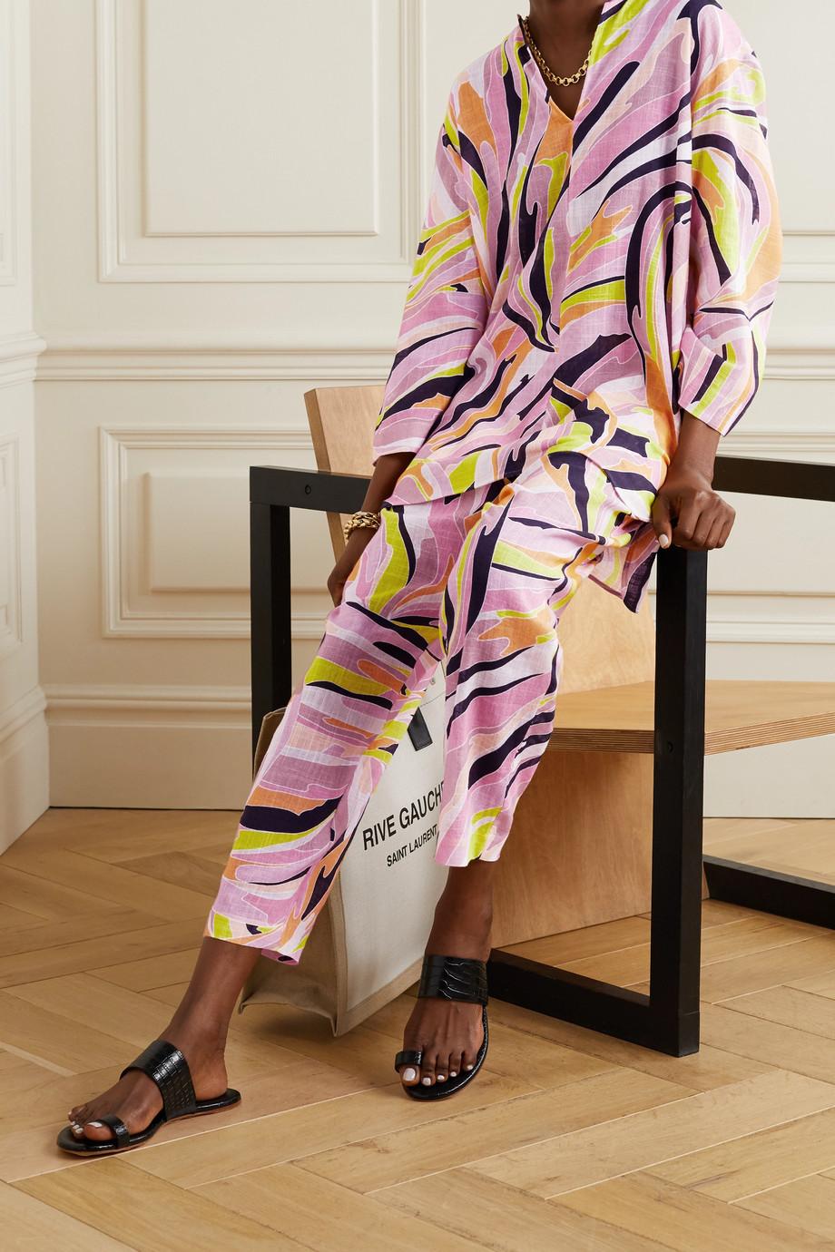 Emilio Pucci Printed cotton-gauze tunic