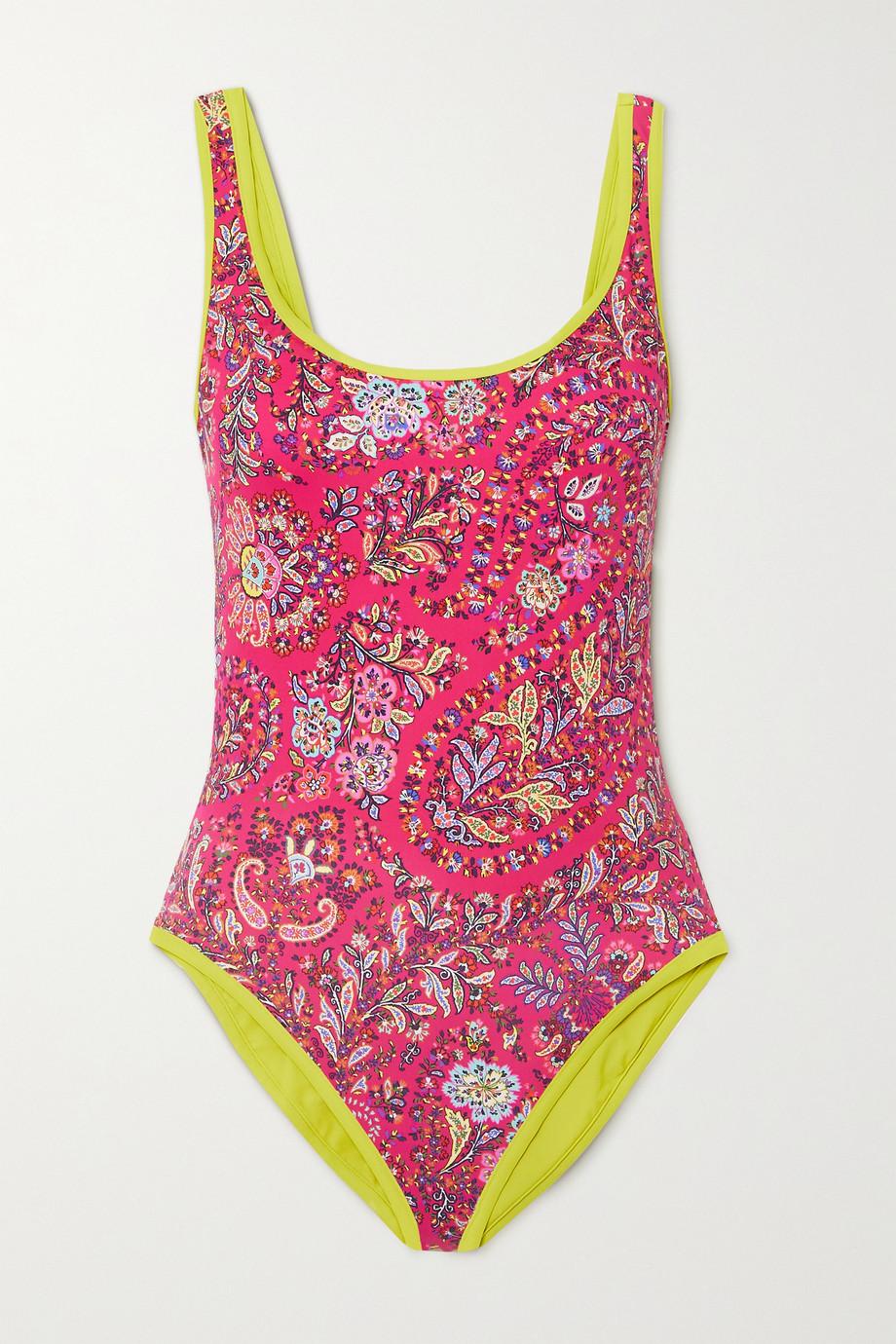 Etro Coco paisley-print swimsuit