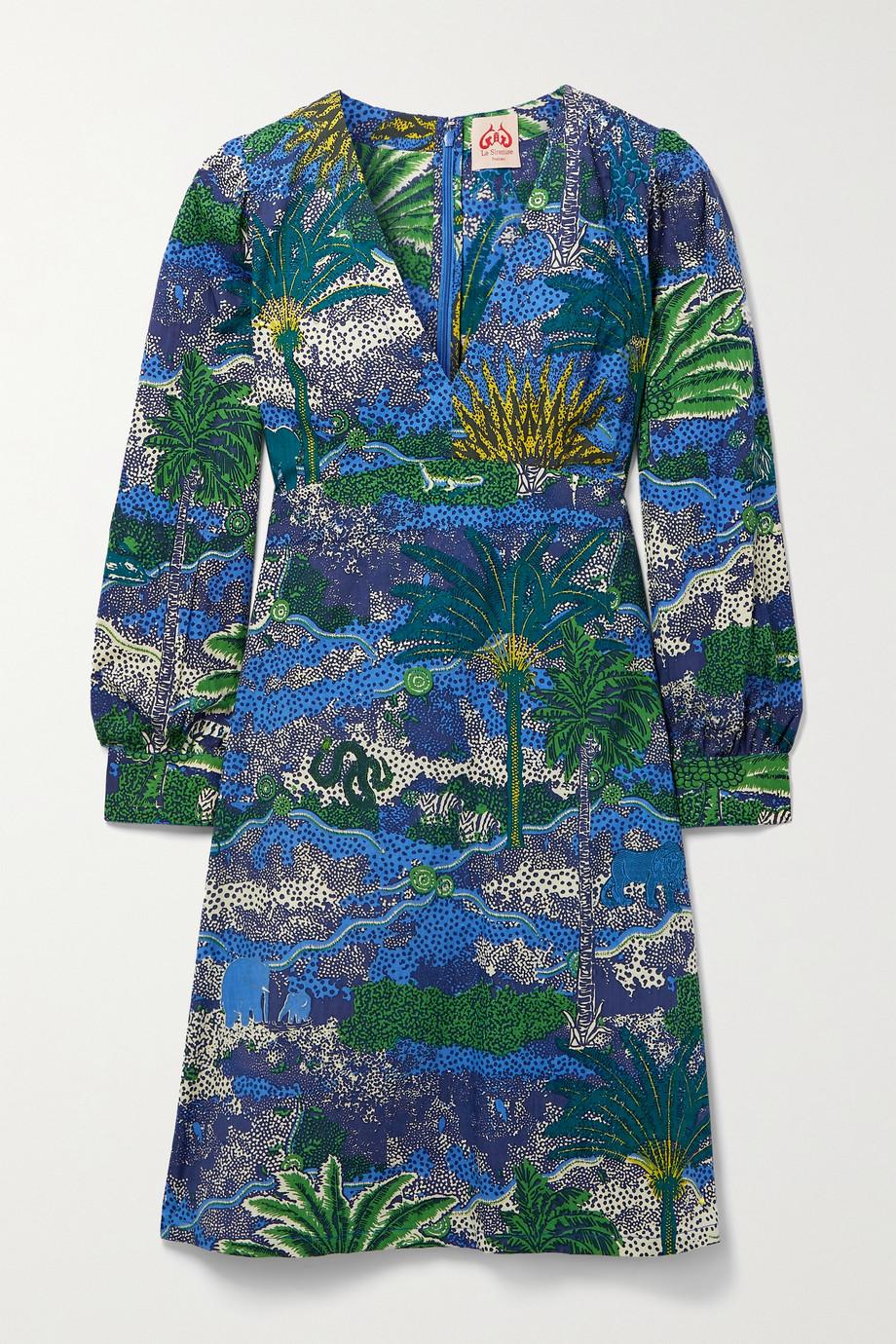 Le Sirenuse Positano Agea printed cotton-poplin dress