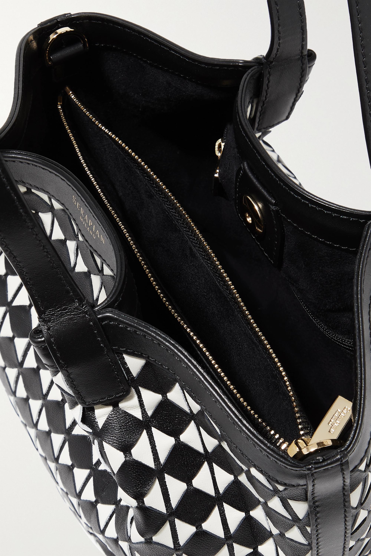 Serapian Secret mini woven leather tote