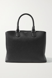 Serapian Luna textured-leather tote