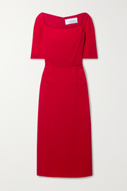 Valentino Stretch-crepe midi dress