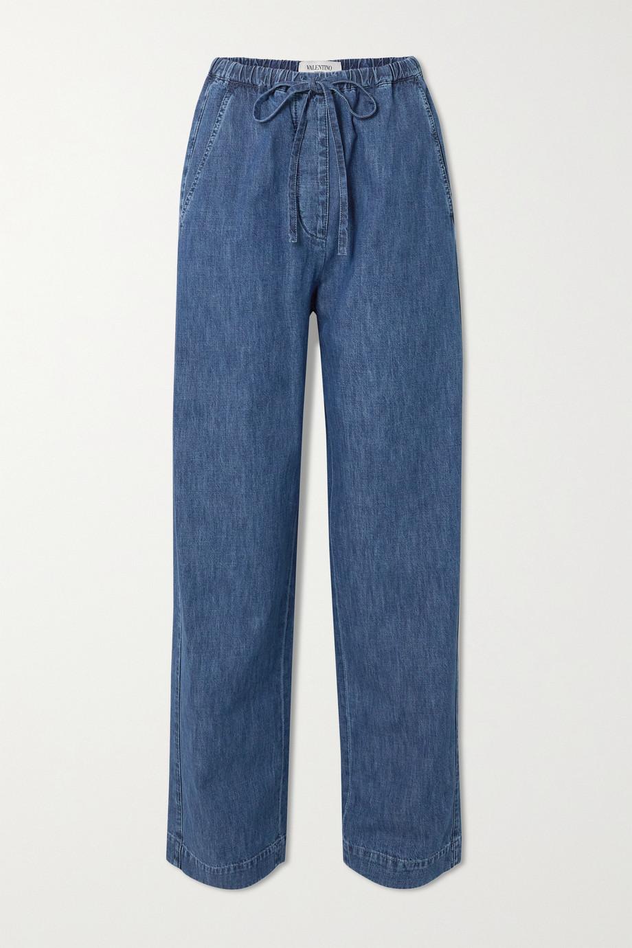 Valentino Wide-leg denim jeans