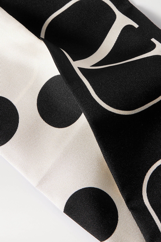 Valentino Valentino Garavani printed silk-twill scarf