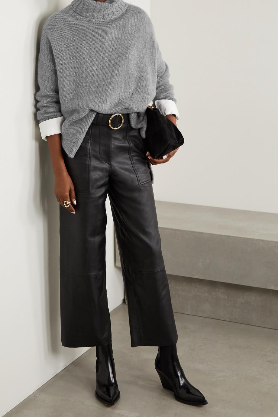 Nili Lotan Brently oversized cashmere turtleneck sweater