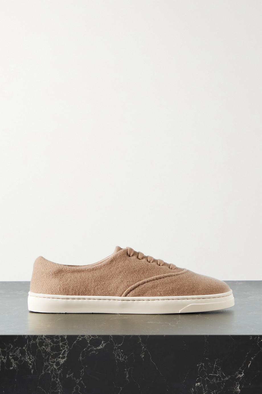 Gabriela Hearst Marcello cashmere sneakers